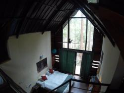Top view of room
