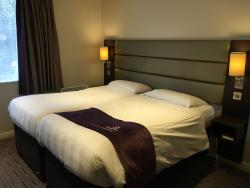 Our King and twin bedded rooms.