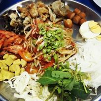 Che Pi Che Phorn Papaya Salad Tray