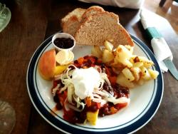 The Ploughman's Lunch and Coffee
