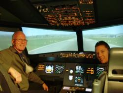 FlyAJetSim Flight Simulator