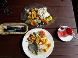 Cafe/bar/restaurant at guest house PILS