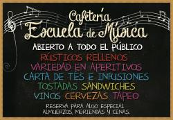 Cafeteria Escuela de Musica