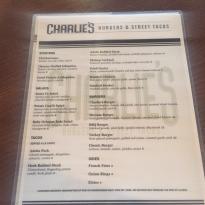 Charlie's Burgers & Street Tacos