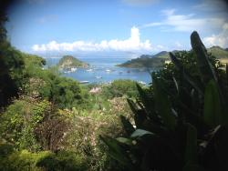 Incredible view to the south-west from the pondok bedroom