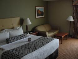 Well appointed room.