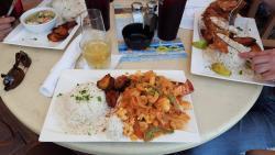Cayuca de langosta y Camaròn