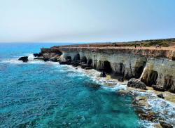 Морские пещеры-гроты Айя-Напы