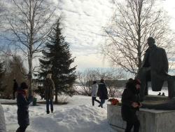 Monument to Nikolai Rubtsov