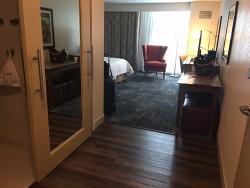 Most Modern Hampton Inn I've Ever Seen!