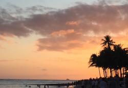 Sunset as seen from Duke's