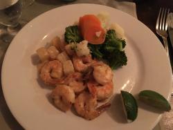 Shrimp Pina Colada