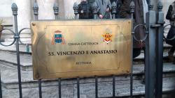 Chiesa Rettoria Santi Vincenzo e Anastasio a fontana di Trevi