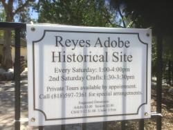 The Reyes Adobe Historic Site