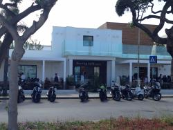 Touring Cafe Beach