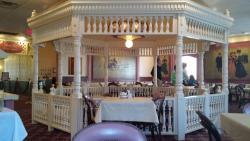 Inside the Gazebo Restaurant