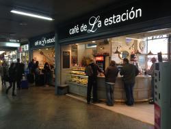 Cafe de la Estacion Atocha
