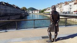 Statue du marquis Jouffroy d'Abbans