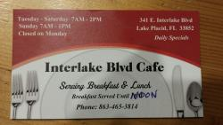 Interlake Boulvard Cafe