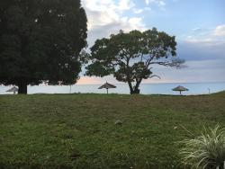 Mooie Lodge, uitzicht over Lake Malawi. Hier kan je heerlijk tot rust komen.