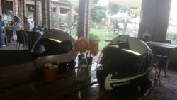 Bikers for lunch