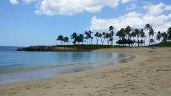 Great resort with lagoon beach(s)