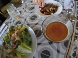 Très bons repas! Merci beaucoup!!