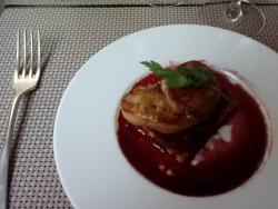 Escalopine de foie gras poêlée