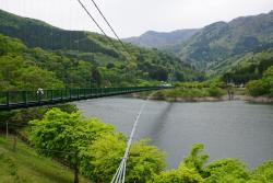 ‪Momijidani Suspension Bridge‬