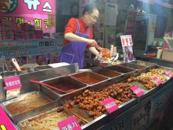 Kyu Seu Korean Style Sweet and Sour Chicken