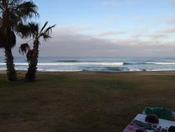 Yea, thats the Pacific out your front door