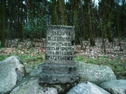 Monument in the Former Orthodox Cemetery