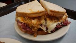 Reuben sandwich at Katz's Delicatessen.