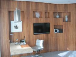 Schönes Holzdesign