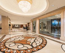 Lobby at the Pudong Shangri-La, East Shanghai