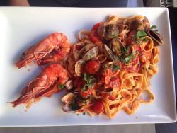 Repas succulent 😋 cuisine italienne fine. Saveur et goût comme chez la Mamma 😊 un conseil alle