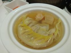 花膠灌湯餃也很好吃