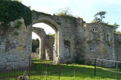 Ruined castle entrance
