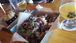 Excellent salads (and pizza)