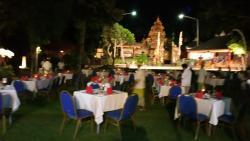 Abendessen beim Balinesischen Abend