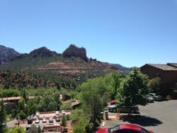 View from Canyon breeze restaurant