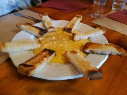 Revuelto de queso