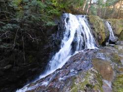 Falls on the property