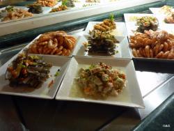 Seafood nigjht apetizers