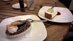 Creme Brulee and Key Lime pie