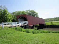 ‪Hogback Covered Bridge‬