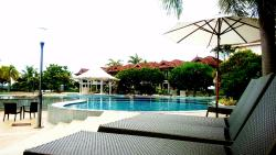 Resort with beautiful swimming pool