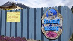 Skagway Sculpture & Flower Garden
