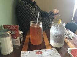 Refreshing tea lemonade mix.