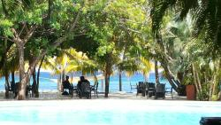 Beautiful scenery, pristine emerald waters, excellent reefs and friendly resort
